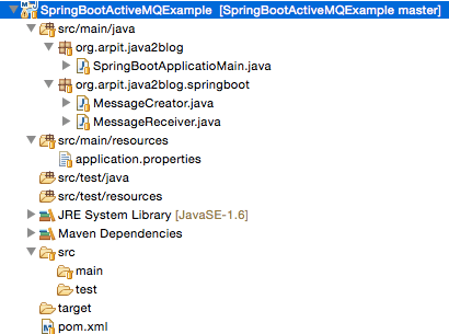 Spring Boot ActiveMQ example